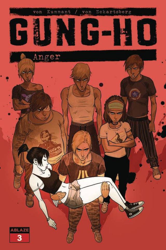 Gung-Ho: Anger #3 (Miki Montllo Cover)