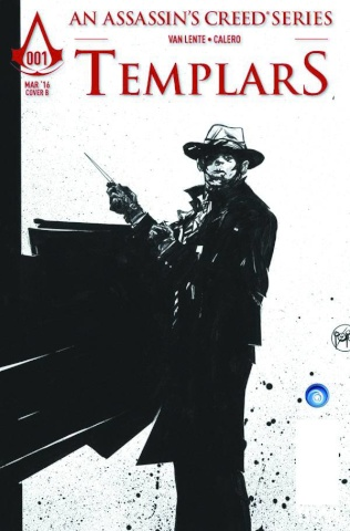Assassin's Creed: Templars #1 (Pope Cover)