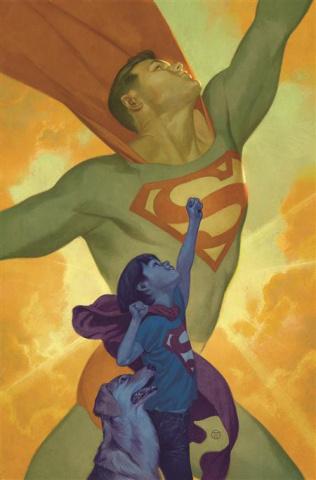 Action Comics #1030 (Julian Totino Tedesco Card Stock Cover)