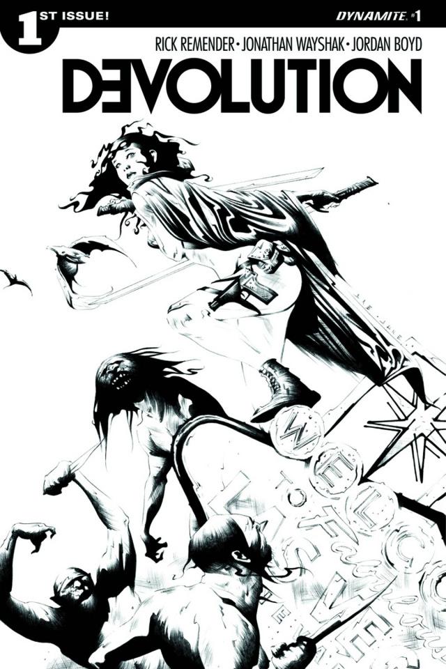 Devolution #1 (10 Copy Lee B&W Cover)