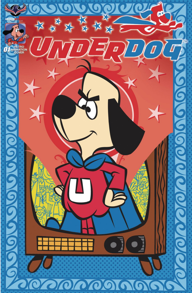 Underdog #1 (Retro Animation 3 Copy Cover)