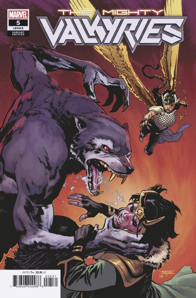 The Mighty Valkyries #5 (Asrar Cover)