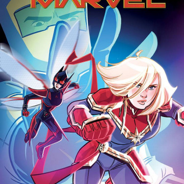 Marvel Action: Captain Marvel #6 (Boo Cover)