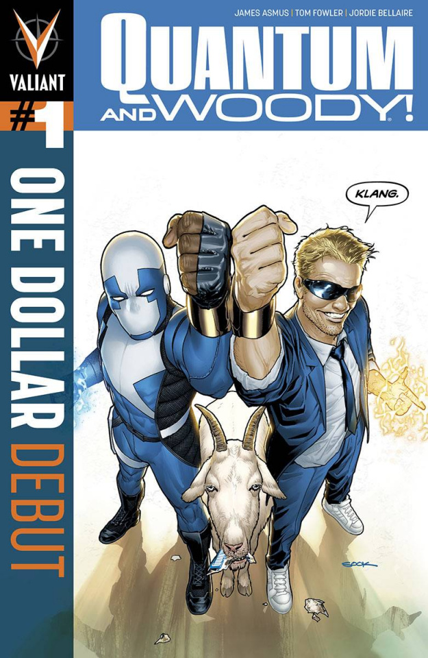 Quantum & Woody #1 (One Dollar Debut)