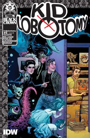 Kid Lobotomy #5 (10 Copy Cover)