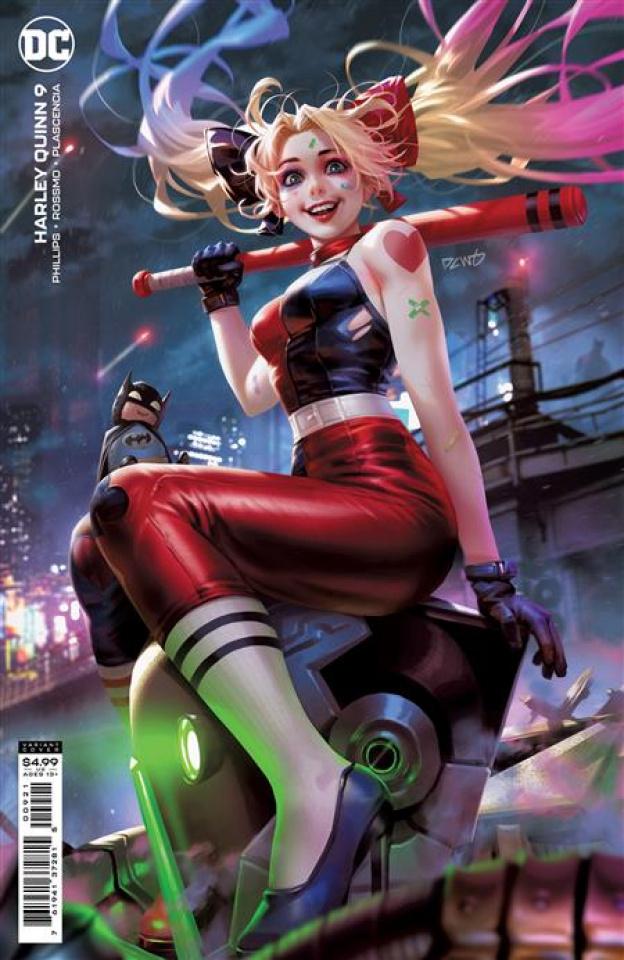 Harley Quinn #9 (Derrick Chew Card Stock Cover)