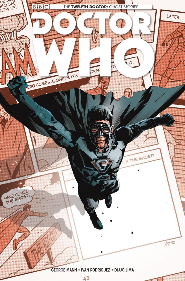 Doctor Who: The Twelfth Doctor - Ghost Stories #1 (Fuso Cover)