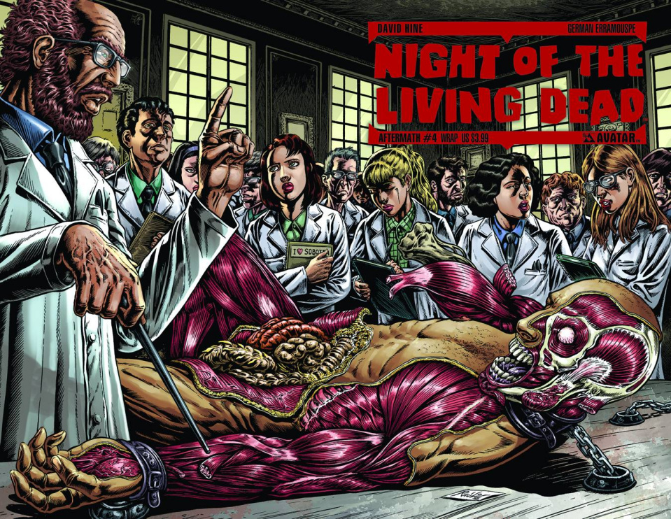 Night of the Living Dead: Aftermath #4 (Wrap Cover)
