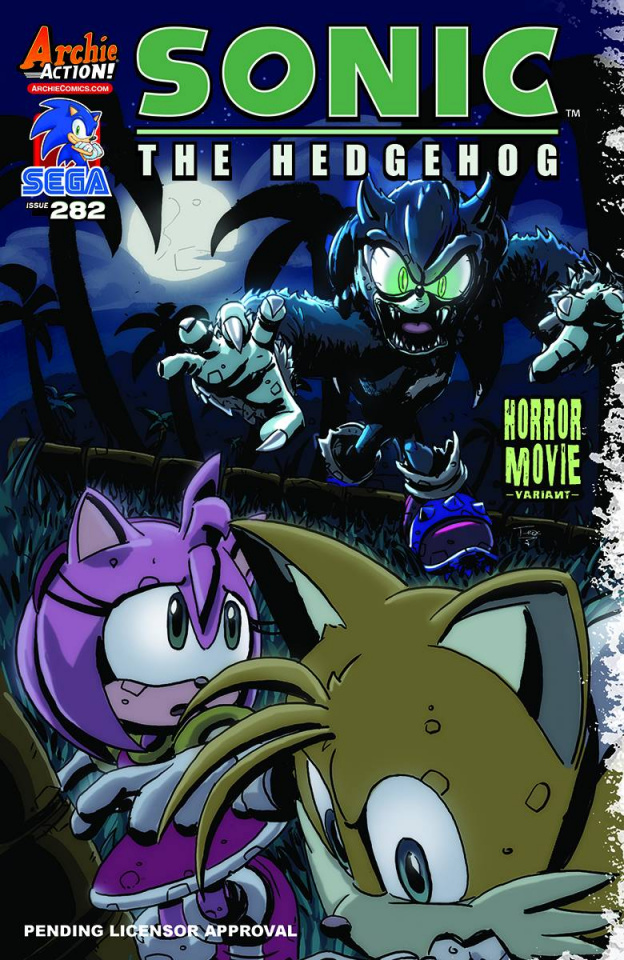 Sonic the Hedgehog #282 (T.Rex Cover)