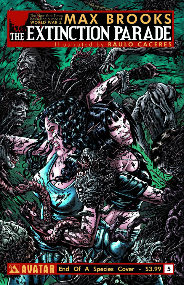 The Extinction Parade #5 (End of Species Cover)