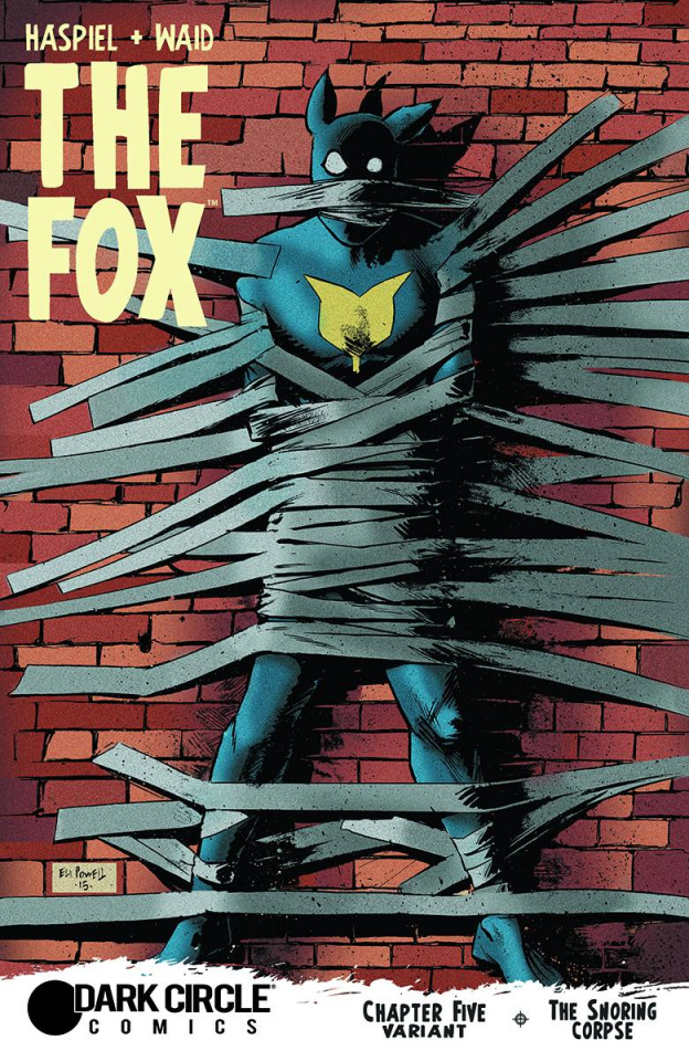 The Fox #5 (Eli Powell Cover)