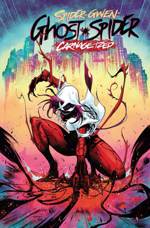 Spider-Gwen: Ghost Spider #10 (Coello Carnage-ized Cover)