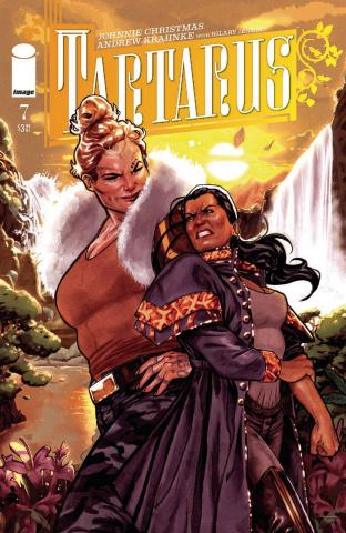 Tartarus #7 (Clarke Cover)