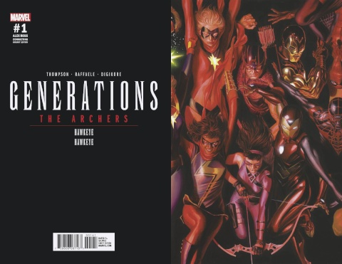 Generations: Hawkeye & Hawkeye #1 (Ross Connecting Cover)