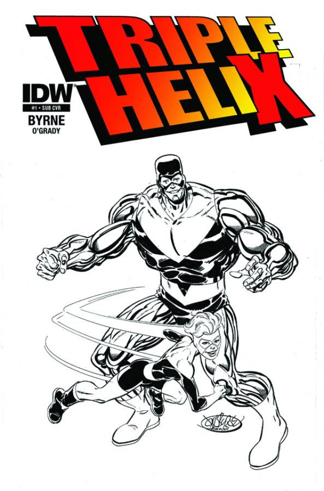 Triple Helix #1 (Subscription Cover)