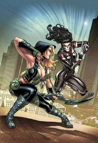 Grimm Fairy Tales: Robyn Hood #17 (Red Death Ortiz Cover)
