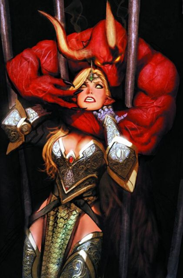 Grimm Fairy Tales #73 (Sejic Cover)