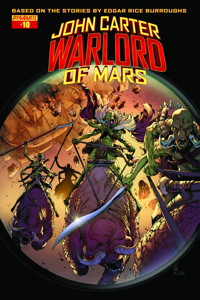 John Carter: Warlord of Mars #10 (Subscription Cover)