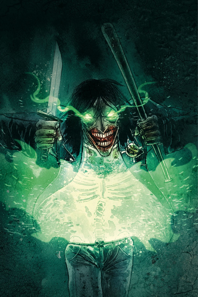 Evil Ernie: Godeater #1 (20 Copy Templesmith Cover)