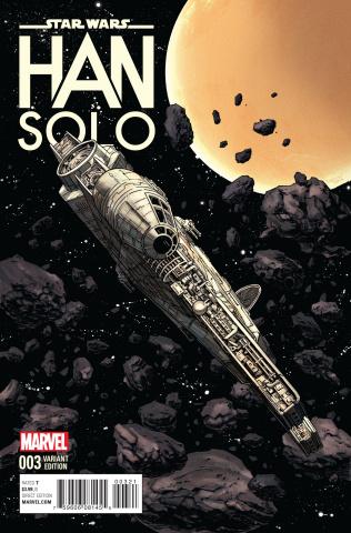 Star Wars: Han Solo #3 (Millennium Falcon Cover)