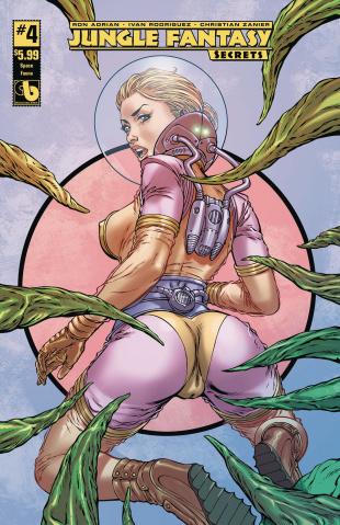 Jungle Fantasy: Secrets #4 (Space Fauna Cover)