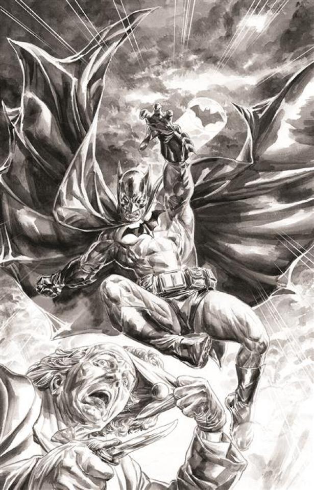 Batman: Black & White #2 (Doug Braithwaite Cover)