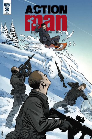 Action Man #3 (10 Copy Cover)