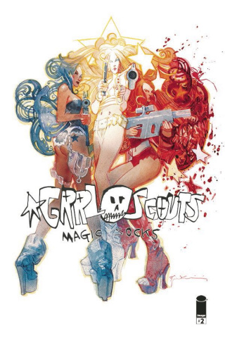 Grrl Scouts: Magic Socks #2 (Sienkiewicz Cover)