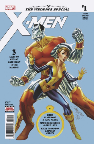 X-Men: Wedding Special #1 (Campbell 2nd Printing)