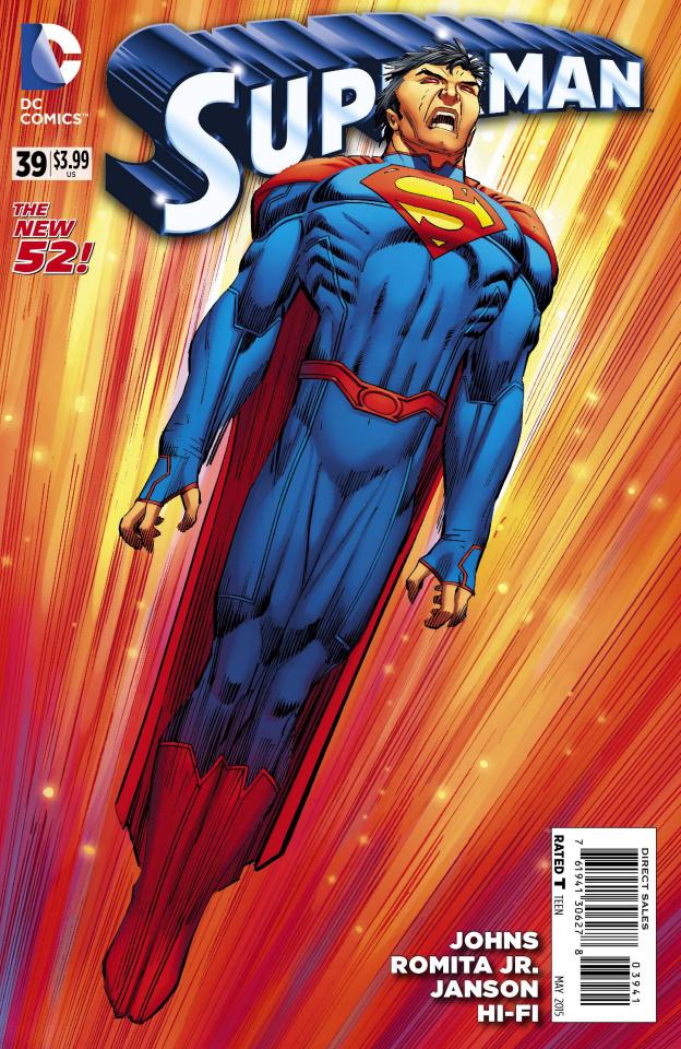 Superman #39 (Romita/Janson Variant)