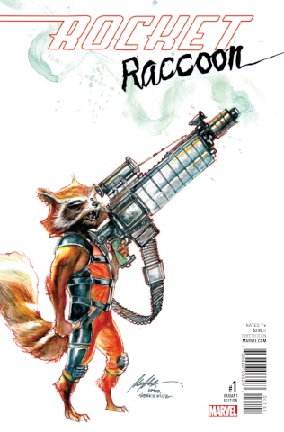 Rocket Raccoon #1 (Albuquerque Cover)