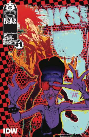Punk's Not Dead #1 (Sienkiewicz Cover)