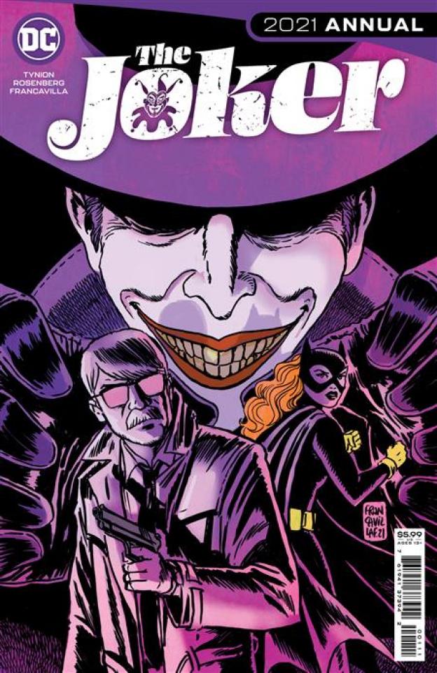 Joker 2021 Annual #1 (Francesco Francavilla Cover)