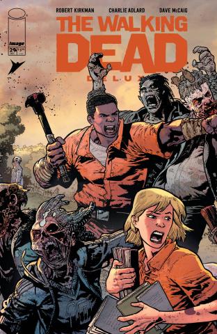 The Walking Dead Deluxe #29 (Bressan & Lucas Cover)