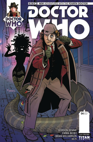 Doctor Who: New Adventures with the Fourth Doctor #4 (Yates Cover)