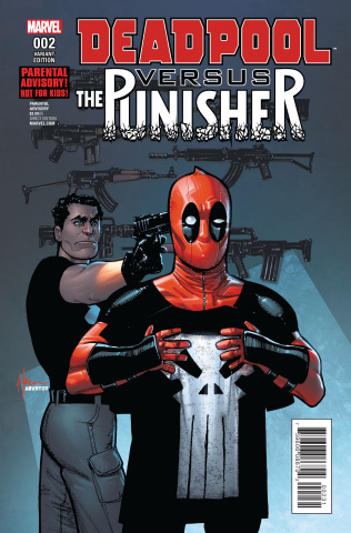 Deadpool vs. The Punisher #2 (Chaykin Cover)