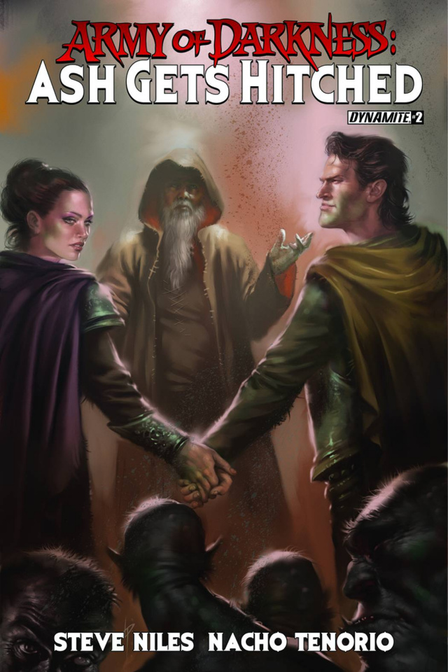 Army of Darkness: Ash Gets Hitched #2 (Subscription Cover)