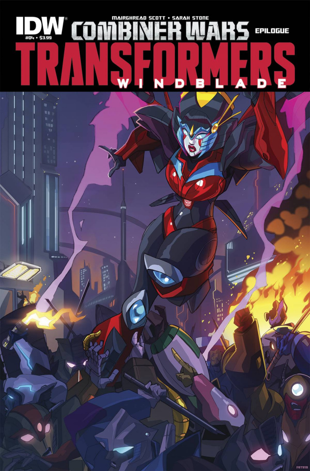 The Transformers: Windblade - Combiner Wars #4