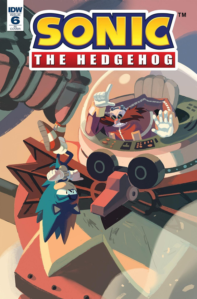 Sonic the Hedgehog #6 (Yardley Cover)