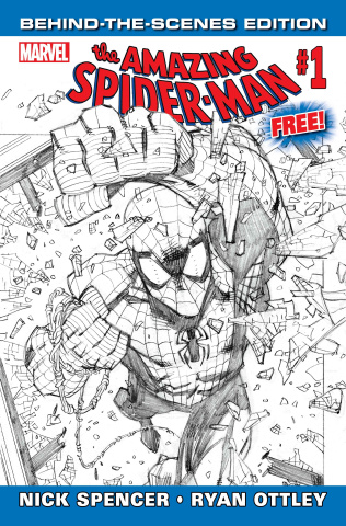 The Amazing Spider-Man #1 (Behind the Scenes Edition)