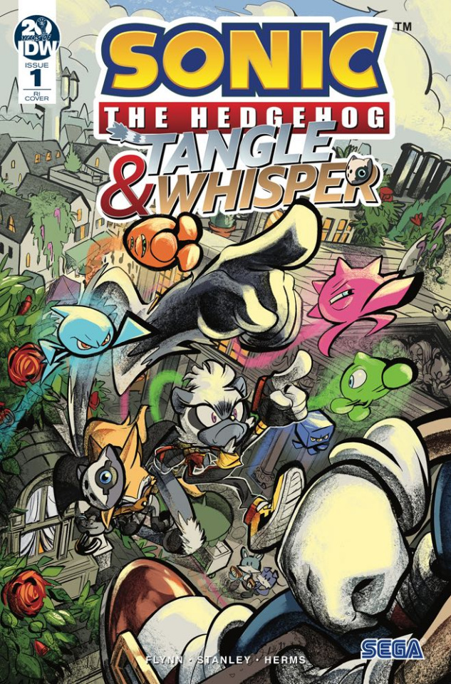 Sonic the Hedgehog: Tangle & Whisper #1 (10 Copy Skelly Cover)