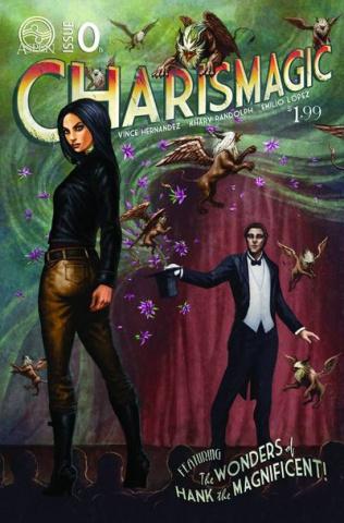 Charismagic #0 (Cover B)