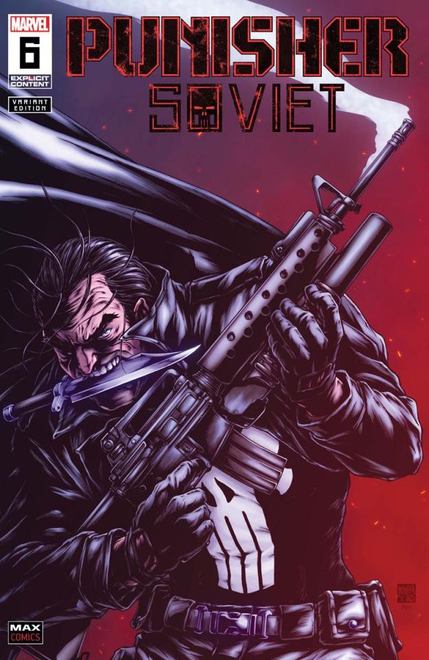 Punisher: Soviet #6 (Okazaki Cover)