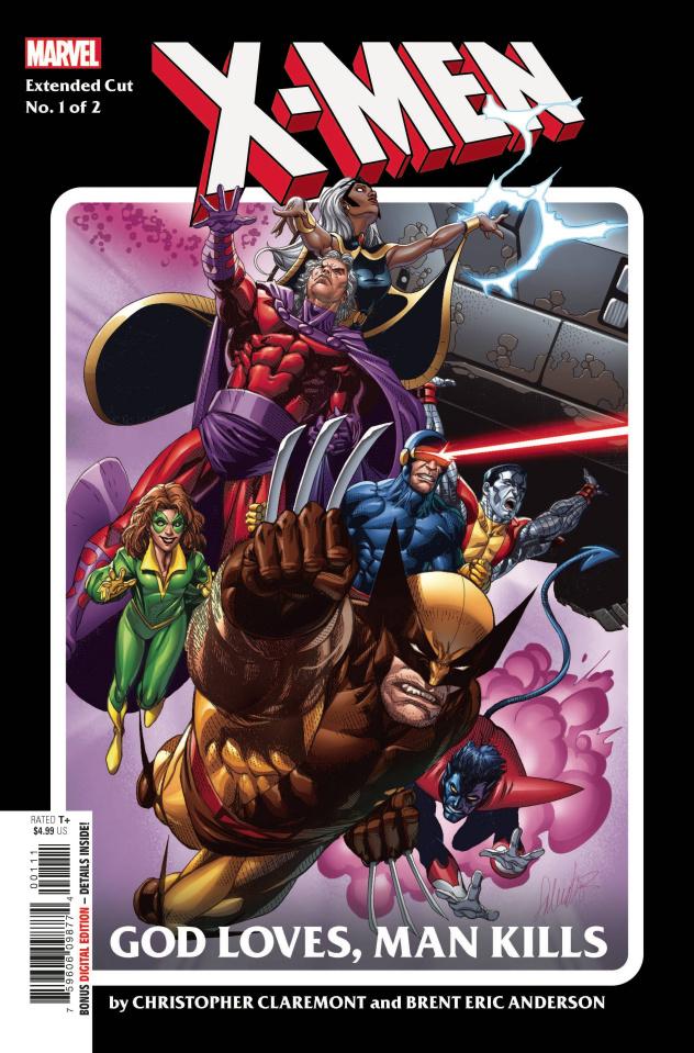 X-Men: God Loves, Man Kills #1 (Extended Cut)