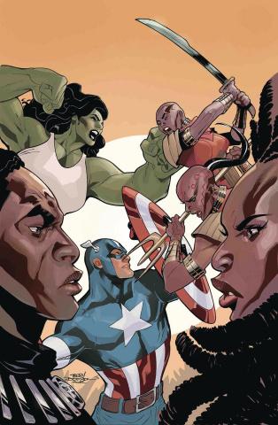 Wakanda Forever: Avengers #1