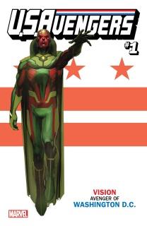U.S.Avengers #1 (Reis Washington DC Cover)