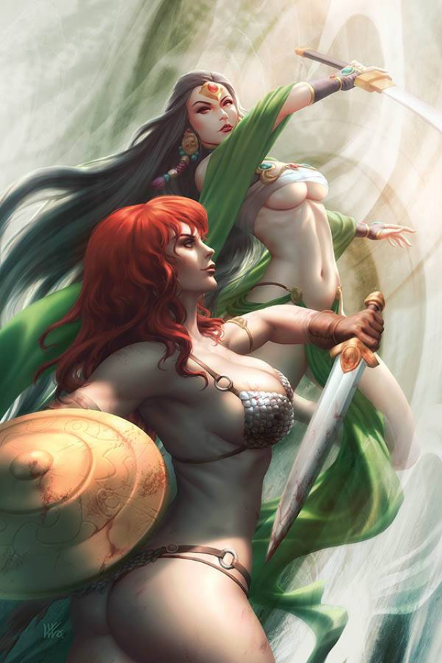 Red Sonja: Age of Chaos #5 (Kunkka Virgin Cover)