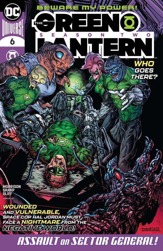 Green Lantern, Season 2 #6 (Liam Sharp Cover)