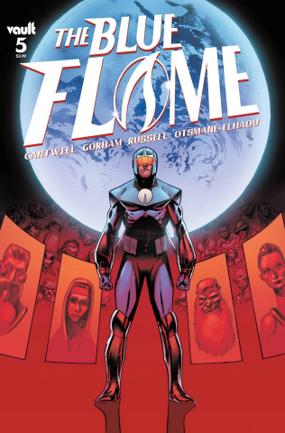 The Blue Flame #5 (Gorham Cover)