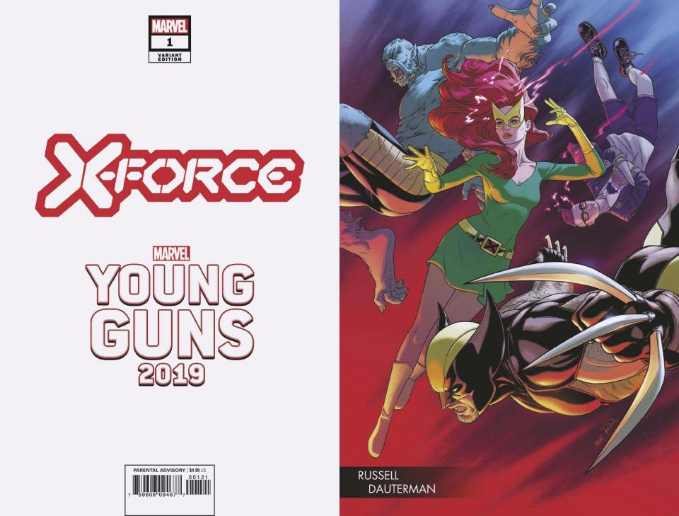 X-Force #1 (Dauterman Young Guns Cover)